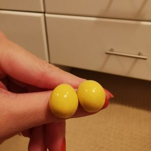 3 for $30 | Bright Yellow Earrings